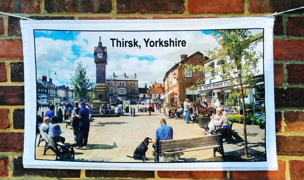Thirsk tea towel