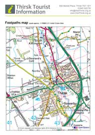 Print a footpaths map