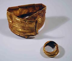 Photograph of metal artifacts