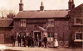 Old photograph of the World's End pub